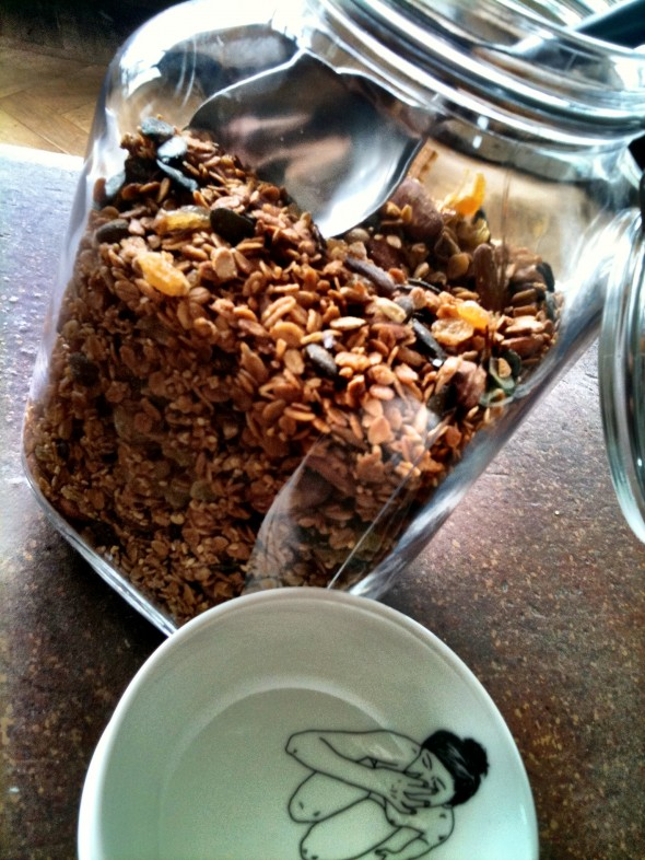 honey granola